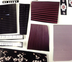 Assorted Striped Magazine Papers