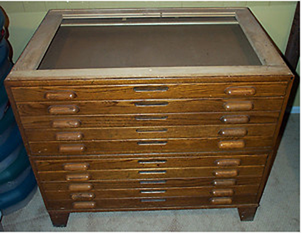 wood file cabinet plan