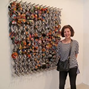 Nancy Nikkal at Art Basel Miami Beach 2012