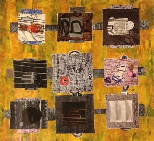 Nikkal, Random Squares Grid 7, 2012