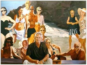 Eric Fischl, Self Portrait Unfinished Work, 2011