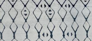 Nikkal, magazine paper scan, inverse pattern color