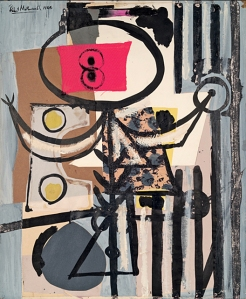 Robert Motherwell, Jeune Fille (1944) private collection/Dedalue Foundation, Inc./VAGA
