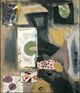 Robert Motherwell, Joy of Living, Collage, 1943