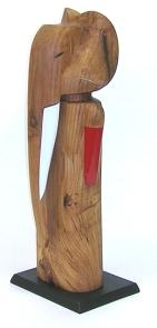 Dodson, Elephant Matador, wood, pigment, paint (2008)