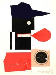 Ivan Chermayeff, Red Talker, collage