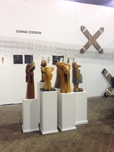 booth installation at Fountain Art Fair 2014