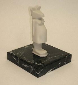 Dodson, Pregnant Kangaroo, 3D Computer Print (2010)