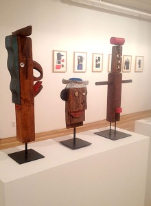 Ivan Chermayeff sculpture at the Pavel Zoubok Gallery