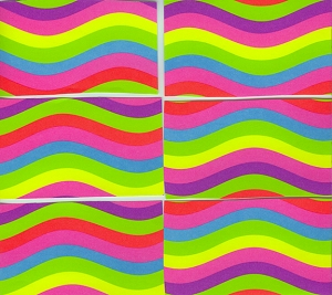 Wavy Striped Papers