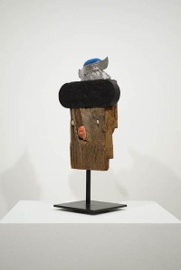 Ivan Chermayeff, another view, Portrait with Pincushion Cap, mixed media assemblage