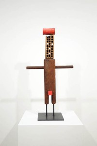 Ivan Chermayeff, Young Person with Hairless Brush Head, mixed media assemblage