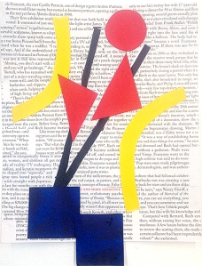 Dee Shaplow, paper collage