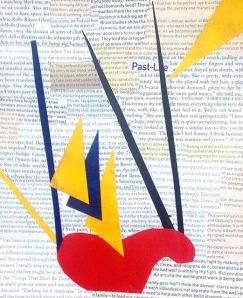 Vivienne, paper collage