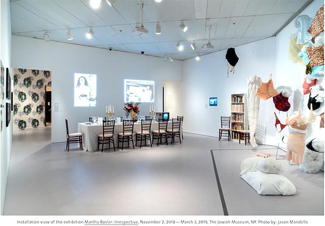 Martha Rosler 640 installation view