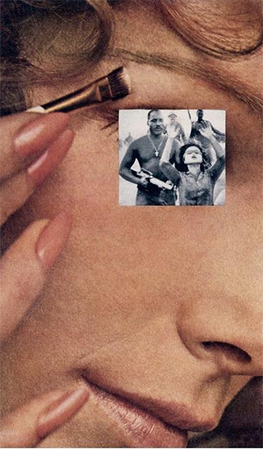 Martha Rosler 640 Makeup Hands Up